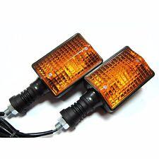 2 x Rear Turn Signal Lights For Yamaha XT350 XT600 XT550 XT250 FZ750  indicators