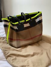 Burberry Reversible Giant Weekend Tote Bag