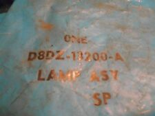 NOS 1978 1979 FORD GRANADA FRONT PARKING LIGHT LAMP ASSEMBLY D8DZ-13200-A NEW OE