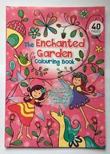 Childrens Colouring Book The Enchanted Garden