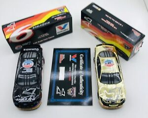 Racing Champions 1:24 scale Gold Chrome Ford Taurus Includes Certificate. #204