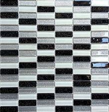 Boden Wandfliesen Aus Glas EBay - Schwarze fliesen mit glitzer