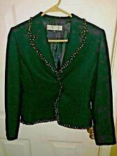 Tahari Petite Woman's Suit Jacket Size 4P