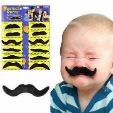 Stick on fancy dress moustaches Tash Tashes Fake moustache Mexican lot beard UK