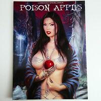 Lorenzo Sperlonga POISON APPLES Erotic Fantasy Art Book Heavy Metal Magazine