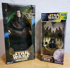 Star Wars Darth Vader and Emperor Palpatine Kenner Collectibles