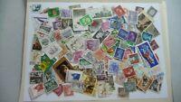 1980           lot 100 timbres seconds plusieurs pays