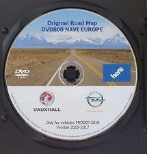 2016-2017 Opel DVD800 MY 2009 2010 Europa DVD