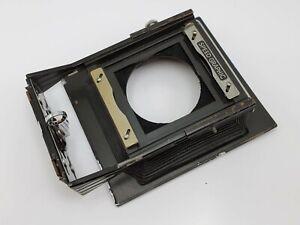 Vintage Graflex Speed Graphic 3x4 Camera Bellows Flange & Front Lens Board Parts