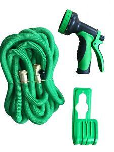 100FT Expandable Garden Hose Lightweight Heavy Duty Flexible Water Hose