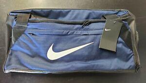 NWT Nike Brasilia Duffel Medium Bag Navy Gym Bag BA5977-410 Travel Gym