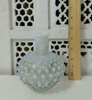 Vintage Fenton Opalescent Hobnail Small Vase