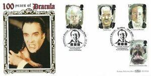 Royal Mail 1997 Tales of Terror on FDC Benham BLCS 126 Centenary of Dracula