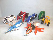POWER RANGERS SUPER SAMURAI MEGAZORD ZORD ANIMALS ORIGAMI