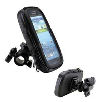 Bike Motorcycle Phone Case Bag Handlebar Mount Holder Waterproof For Samsung S8