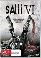 Saw 06 IV (DVD, 2010)  - FREE POST