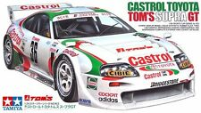 Tamiya 24163 1/24 Scale Model Car Kit Castrol Tom's Toyota Supra GT JZA80 JGTC