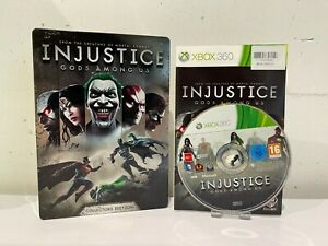 Injustice: Gods Among Us Steelbook (Xbox 360) Xbox One & Series x Compatible