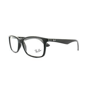 Ray-Ban Glasses Frames 7047 2000 Black Mens 54mm