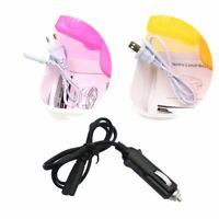 1Pcs 12V 110V 220V Mini Electric Car Heat Insulation Thermo Lunch Box Power Cord