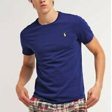 Ralph Lauren T-shirt Originale da uomo Custom fit 100% cotone