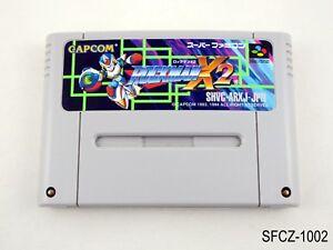 Rockman X2 Super Famicom Japanese Import SFC SNES Nintendo Mega Man JP US Seller