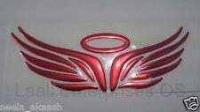Angel Wings Super Cool 3D Soft Car Bike SUV Sedan Laptop Badge Emblem Sticker