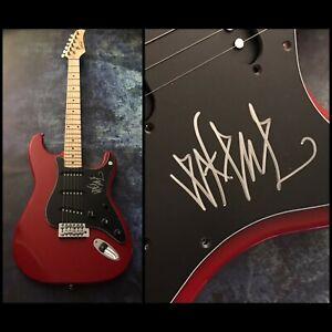 GFA We're Desperate - Band X EXENE CERVENKA Signed Electric Guitar E1 COA