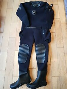 Diving drysuit military issue M- Large commercial Northern Diver 5mm Neoprene