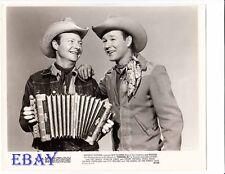 Roy Rogers Pat Brady VINTAGE Photo Trigger Jr.