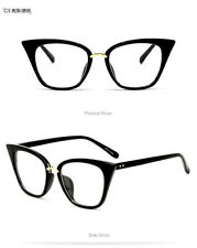 2018 Cat Eye Sunglasses Frame Clear Lens Optical Goggles Women's Plain Glasses