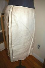 J.CREW linen skirt Sz 14 Fully lined Excellent condition