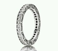 190618cz NEW Genuine Pandora Sterling Silver CZ Eternity Style Ring Size 54 £115