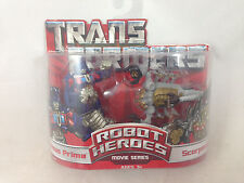 Transformers Movie Robot Heroes Optimus Prime Scorponok NEW MIB