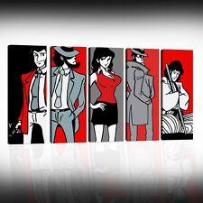 Quadri Pop Art Lupin Dipinti A Mano Su Tela Quadro Moderno Margot Personalizzati