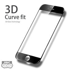 BLACK 3D Curve Edge Tempered Glass Screen Protector for Apple iPhone 6/iPhone6