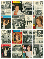 Princess Grace - Paris Match & Point De Vue magazine articles & clippings HUGE G