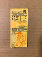 1972 NY Mets vs Houston Astros Baseball Ticket Stub Kranepool Home Run EX Condit