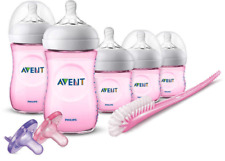 Philips Avent Natural Bottle Pink Gift Set - SCD206/11