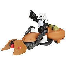 Star Wars Galaxy Heroes Scout Trooper Figure & Speeder Bike