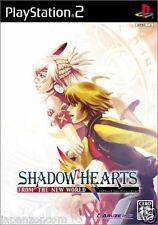 Used PS2 Shadow Hearts: From the New World  SONY PLAYSTATION JAPAN IMPORT