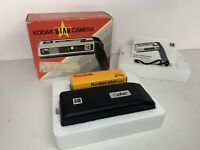 Kodak Star Vintage Camera 110 22mm 80's 90's Boxed Instructions & NEW Film MINT