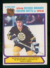 1980-81 O PEE CHEE RAY BOURQUE RB NO:2  Ex MINT COND     LOT 371