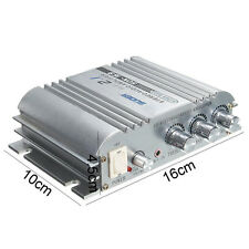 Potencia de alta fidelidad Stereo Audio Amplificador Coche Moto conectar