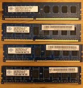 8gb (4 x 2gb) Nanya PC3-10600 DDR3-1333 DIMM 240pin PC RAM Memory