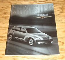 Original 2001 Chrysler PT Cruiser Deluxe Sales Brochure 01