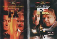 FX effet de choc + FX 2 effets trés spéciaux : BRYAN BROWN ... LOT 2 DVD
