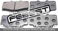 Pad Kit, Disc Brake, Front For Toyota Land Cruiser Prado 90 (1996-2002)
