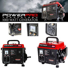 1000w Super Quiet Gas Powered Portable Generator Lightweight Camping RV Home NEW
