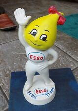 SUPERB ESSO OIL DROP CAST IRON  MONEY BOX FRAU TROPF
